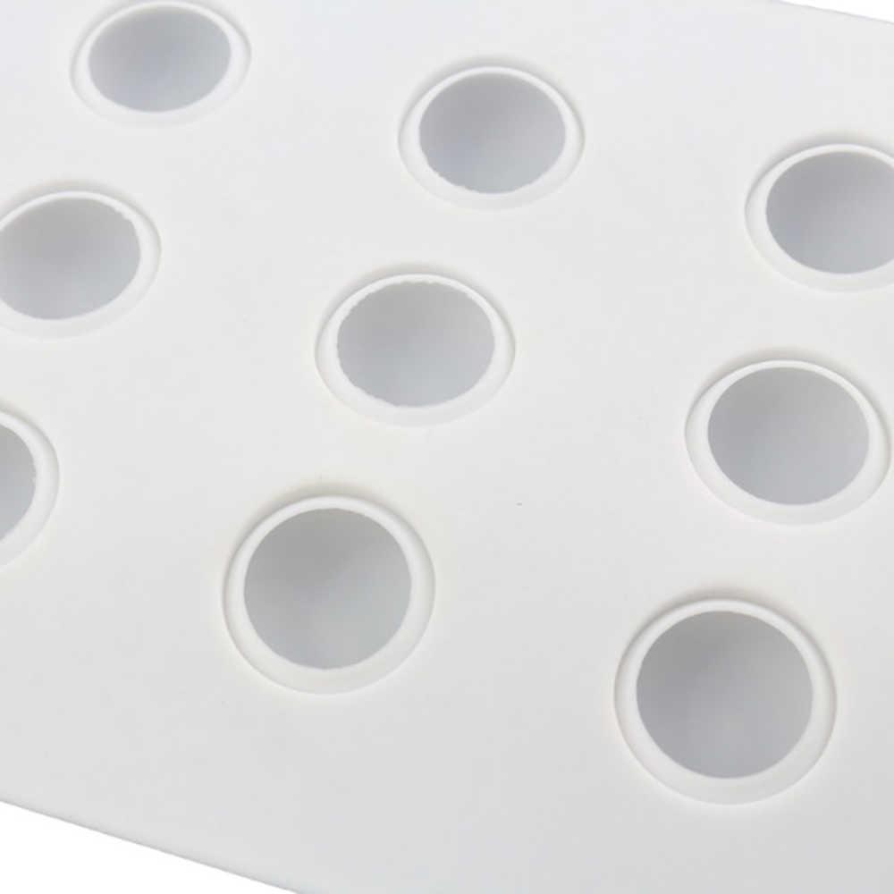 新しい 3D手作りカップケーキクッキーマフ石鹸メーカー 15 穴球クリエイティブシリコーンケーキ型ムース型diyのベーキングツール