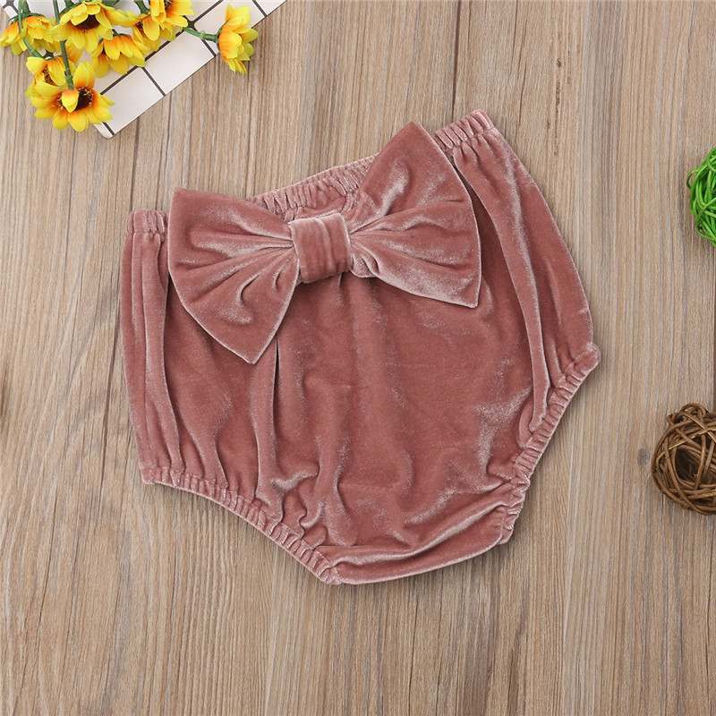 PUDCOCO New Kids Baby Girl Butterfly Knot Shorts Diaper Cover Panties PP Pants|Shorts| - AliExpress