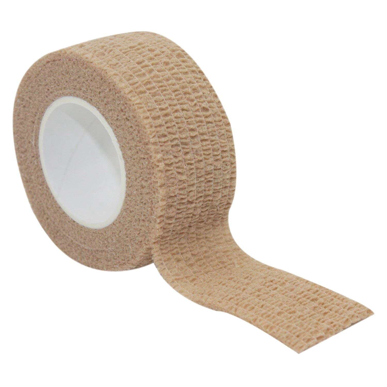 Verstandig Zelfklevende Stok Lijm Bandage Latex 1 Inch Bandage Stretching Wrap Veterinaire Tape Voor Pols Enkelletsel En Zwelling, Gediversifieerd In Verpakkingen