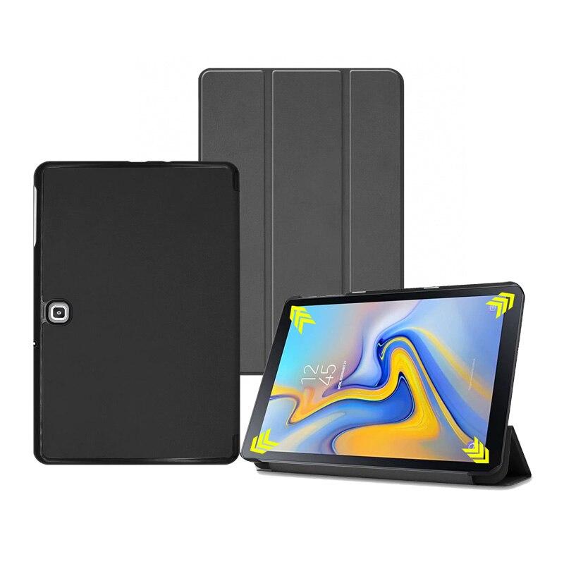 Slim Stand PU Cover Voor Samsung Galaxy Tab Advanced2 10.1 2019 T583 Flip Protectors Case 30 stks/partij-in Hoezen voor tablets en e-books van Computer & Kantoor op AliExpress - 11.11_Dubbel 11Vrijgezellendag 1