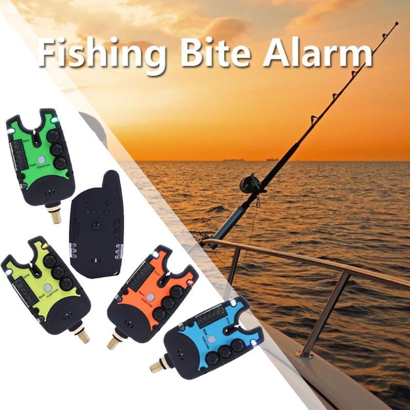 JY 27B Wireless Fishing Bite Alarms Digital Alarm Electronic Anti off bar Indicator Alert Fishing Tackle