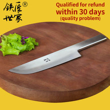 handmade kitchen knives stainless steel Slicing  cleaver knife chef sashimi Fish meat кухонный