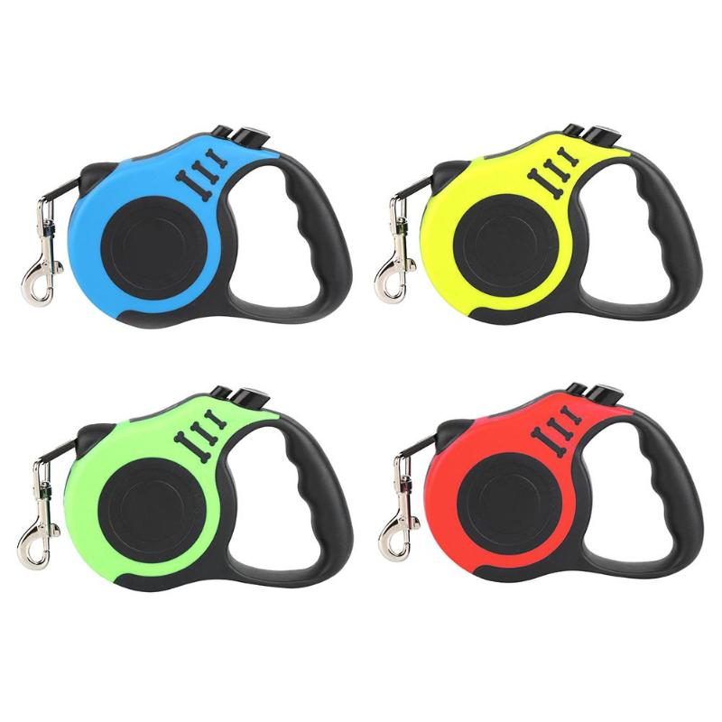Training Dog Leash Lead Retractable Traction Rope For Small Medium Dogs Cats