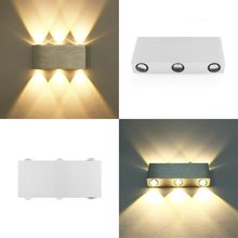 LED Wall Lamp Modern Aluminium Light 18W Lighting Indoor Mounted Sconce