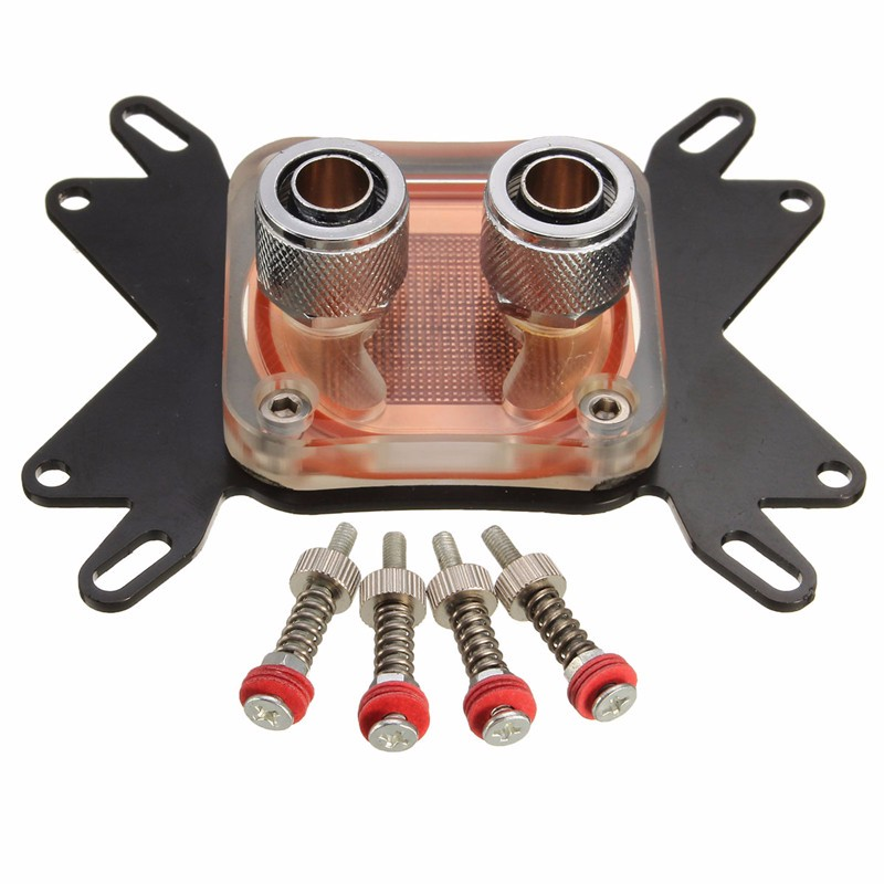 4Pcs Set Screw M3 3mm 50mm For CPU GPU Water Cooling Block HeatSink Cooler