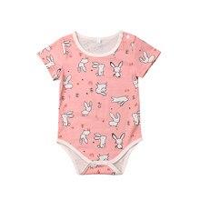 f6fc39cb784d1 Lapin de pâques nouveau-né enfant bébé fille garçon barboteuse lapin  combinaison tenue pour nouveau-né bébé fille infantile enfa.