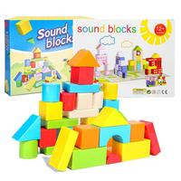 Building Blocks Toys Large Particles Sound Modeling Environmentally Friendly Resin Odorless Educational Toys Model for Children