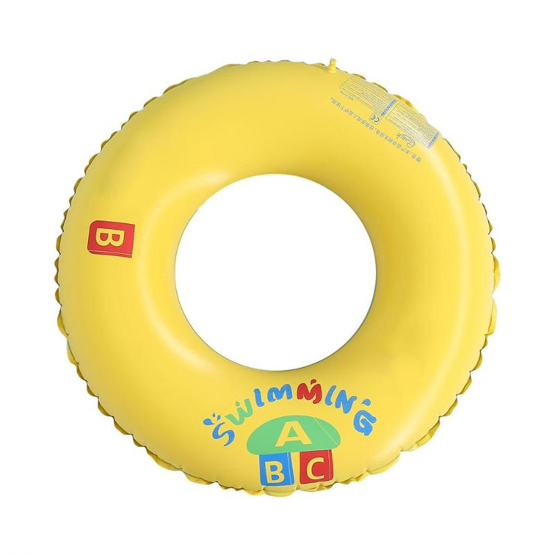 Water Sports Swim Rings PVC Inflatable Rainbow Pool Swimming Ring Thicker Floating Ring Lifebuoy For Sailing Floating Pool Toys