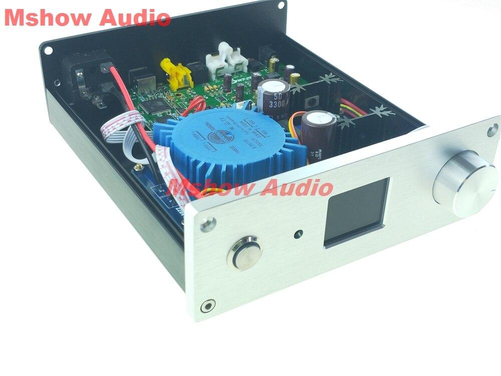 Finished ES9038Q2M ES9038 Q2M HIFI DAC Decoder Digital to analog Audio Amanero USB support DSD512 DSD
