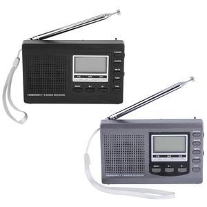 Image 2 - LEORY المحمولة راديو رقمي DC 5 V FM MW SW ساعة تنبيه FM راديو استقبال البسيطة والسماعة المدمجة