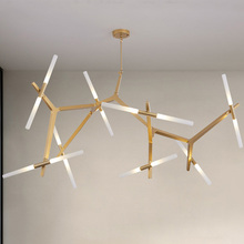 modern led pendant lights lustre loft deco simple G9 cafe bulb glass hanging light fixture dining living room luminaire suspendu