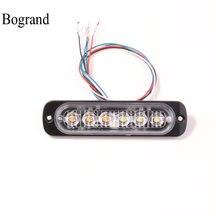6 светодиодный ных автомобильных стробоскопических сигнасветильник