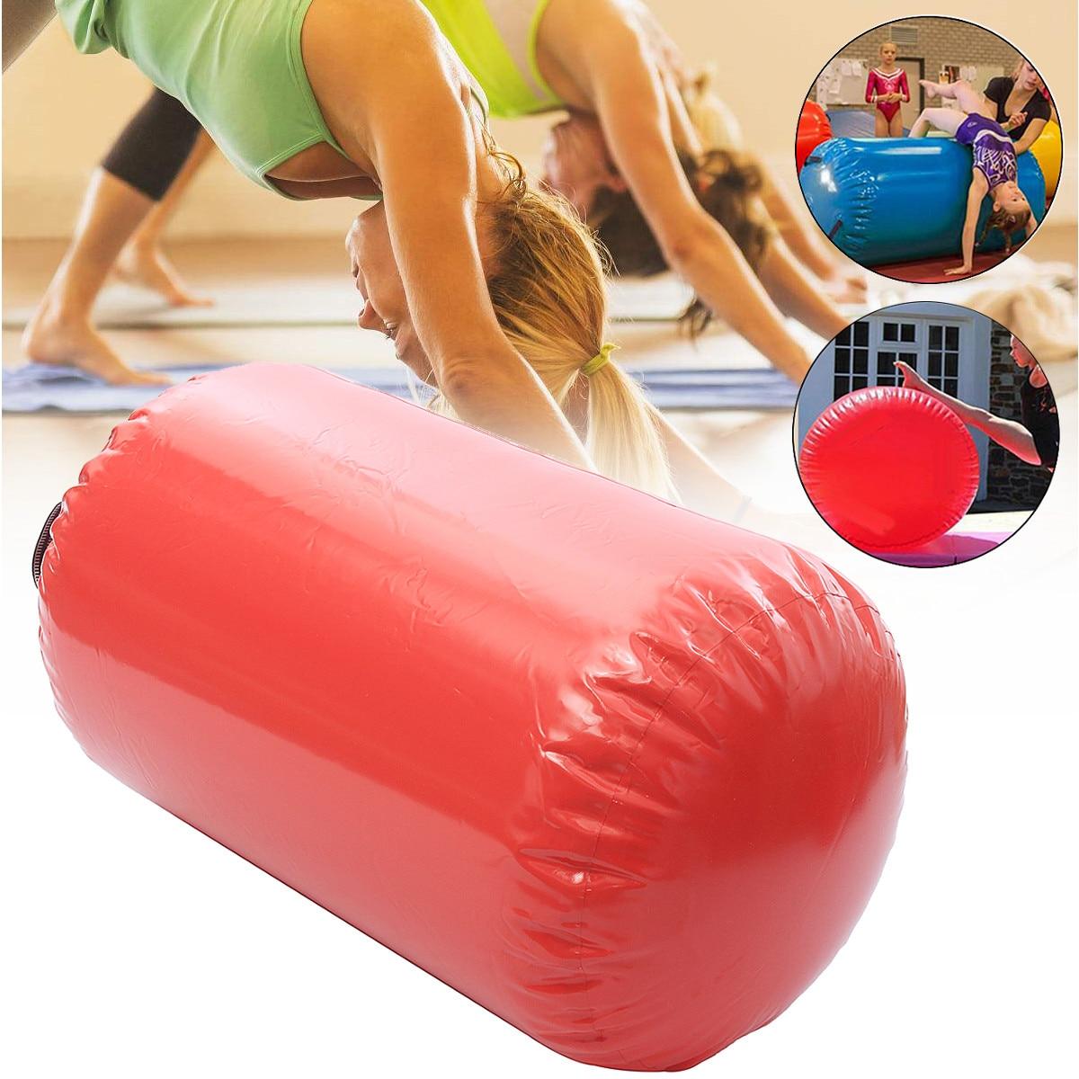 Gofun AirTrack Air cylindre Tumbling piste gymnastique exercice colonne gonflable Gym inversé Backflip entraînement enfants en sécurité - 5