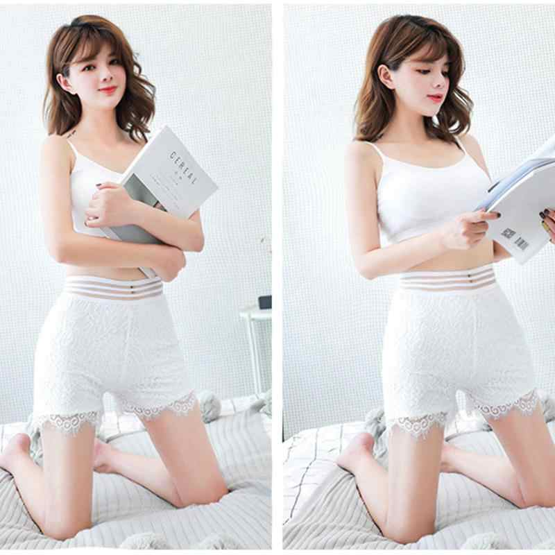 Hot Sale Wanita Celana Safety Celana Dalam Modal Mulus Seksi Lace Panties Ultra Tipis Celana Musim Panas Perempuan Celana Pendek Cocok untuk gaun