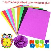 Cards Art Colorful Sponge Paper DIY Party Wedding Sewing A4 Handmade Books EVA Foam Decorative Tools #20