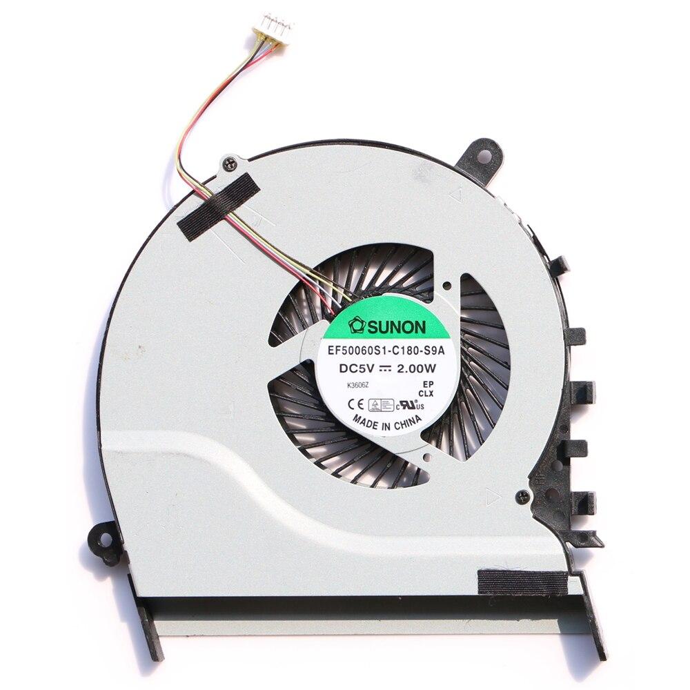 New Original Cpu Fan For Asus S551 S551LB V551 V551LB K551 K551L K551LA K551LB K551LN R553L Cpu Cooling Fan EF50060S1-C180-S9A