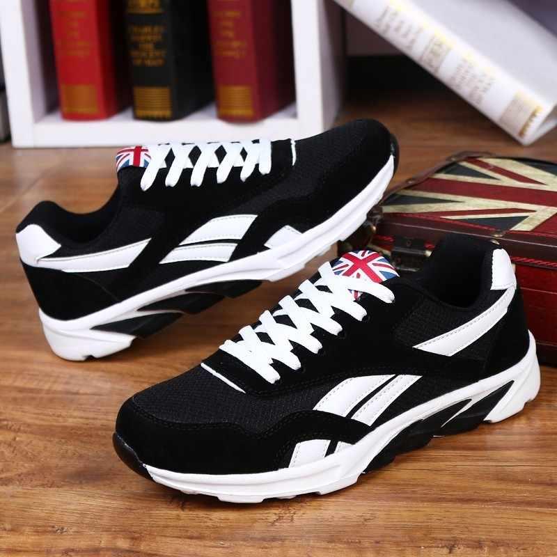 Популярные демисезонные мужские повседневные туфли дышащие Zapatos легкие Calzado de hombre удобные мужские кроссовки Прямая доставка