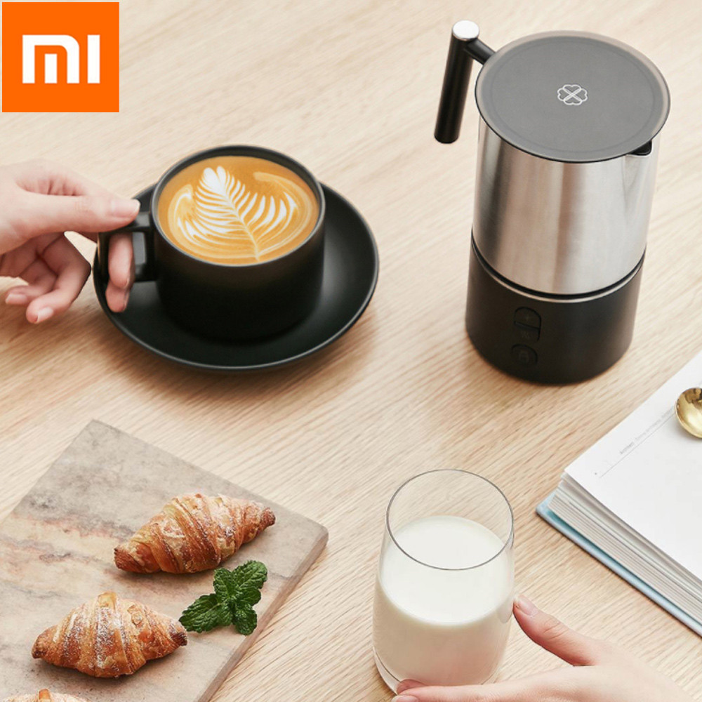 xiaomi scishare electric milk frother cappuccino shaker steamer jugs machine pitcher automatic foamer stainless maker for coffeexiaomi scishare electric milk frother cappuccino shaker steamer jugs machine pitcher automatic foamer stainless maker for coffee