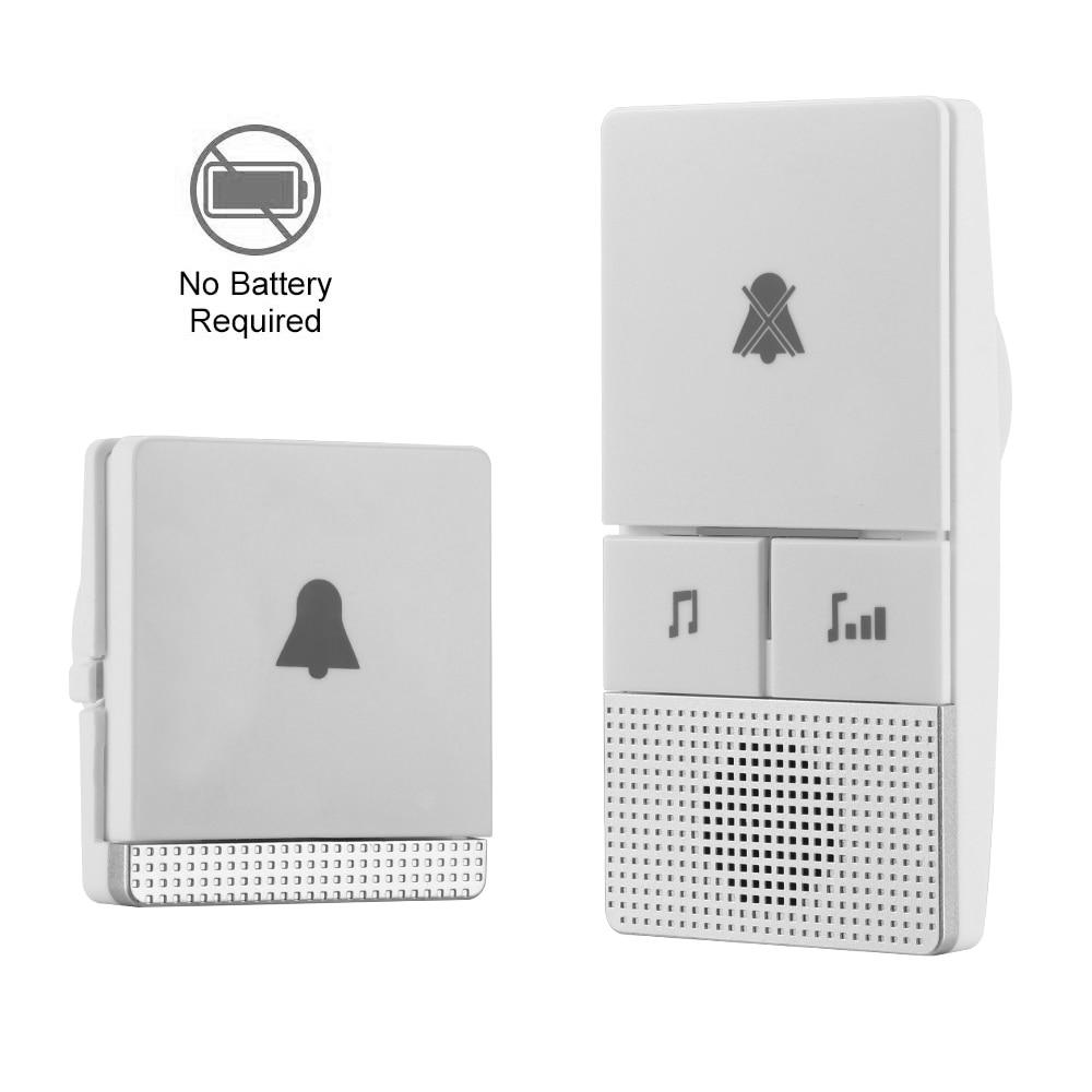 Image 2 - Wireless Doorbell EU Plug 300M Long Range Home Door Bell Ring Call 1 Transmitter 1 Receiver Old Man-in Doorbells from Home Improvement