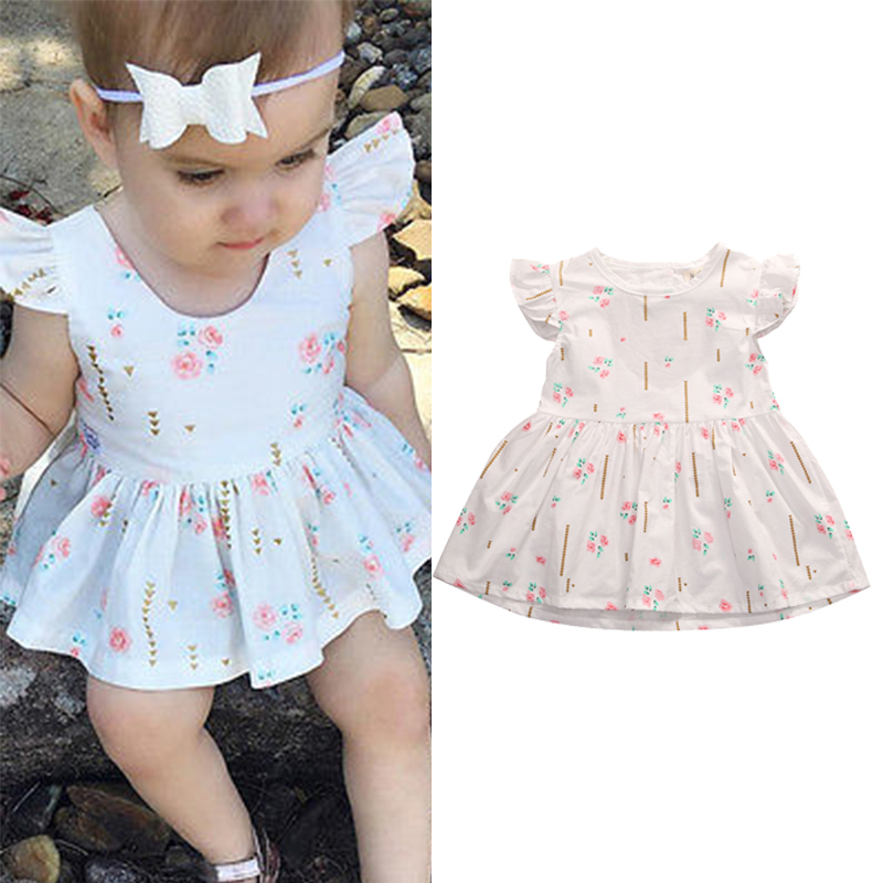 Toddler Infant Kids Baby Girls Summer Dress Princess Party Wedding Tutu Dresses