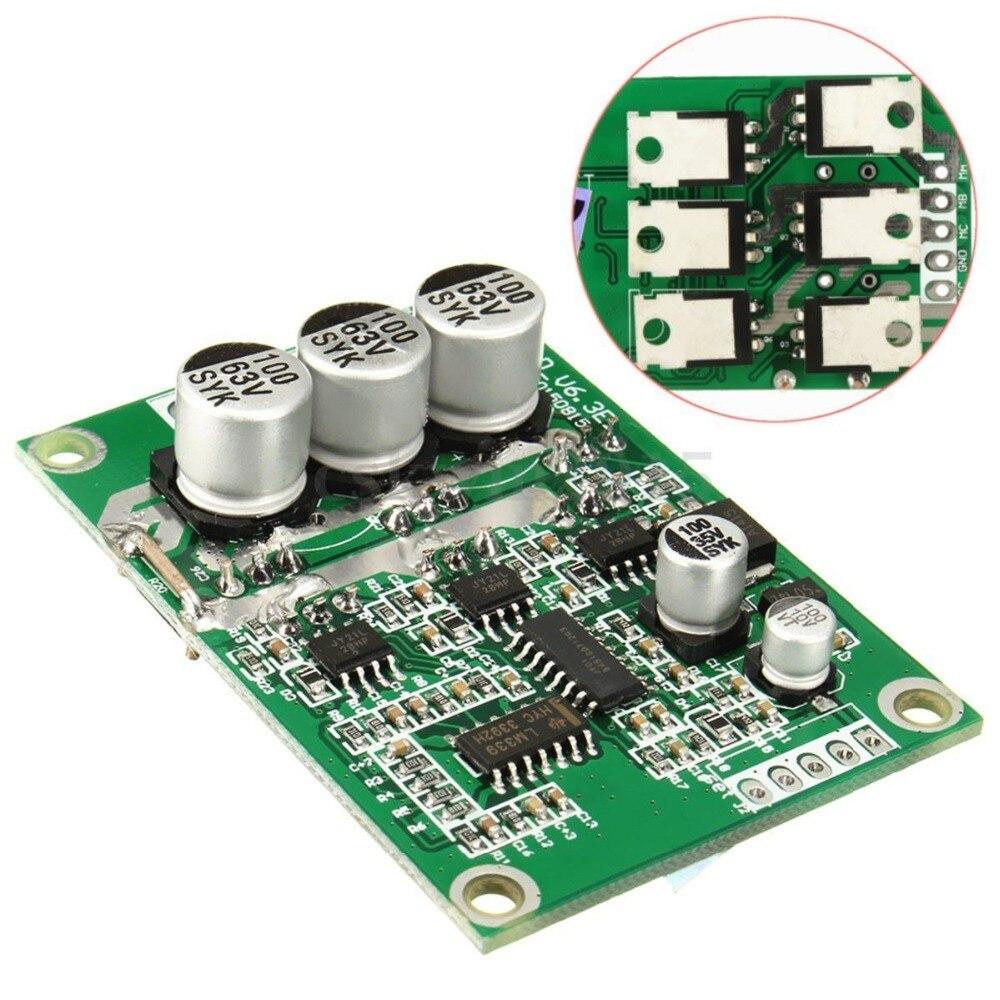 DYKB Salão Controlador Do Motor Brushless DC Motor de 500 W PWM BLDC Equilibrado Balanceamento Automotivo Carro Placa de Controle do Driver 12 V 24 V 36 V