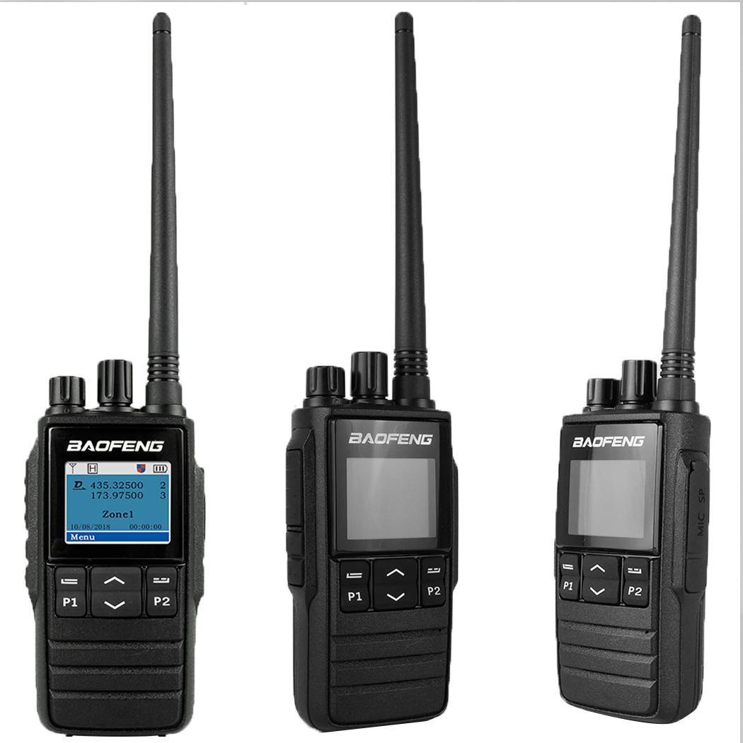 Waterproof Long Range Walkie Talkie Radio 2.5ppm Dual Band Portable 5KHz, 6.25KHz -20+55 Radio Communicator
