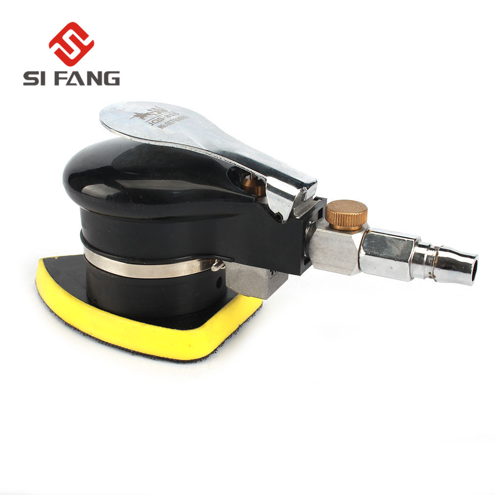 SI FANG Air Sander Polished Grinding Triangle Pad Pneumatic Sander Sandpaper Polisher Grinding Machine Hand Tools|Pneumatic Tools| |  - title=