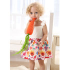 0-24M Baby Girl floral dress baby girl cotton fashion dress baby dress