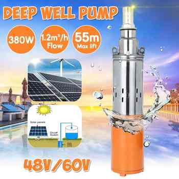 380W 48V/60V Solar Water Pump 55M Max Lift Deep Well Pump Solar Energy Submersible Water Pump - DISCOUNT ITEM  47% OFF All Category