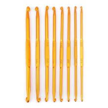 8pcs/set crochet hook set aluminum double-head yarn Suit weaving fashion Sewing Needles gifts for women AQ037