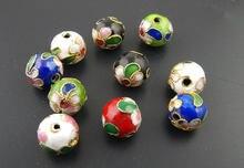DoreenBeads 30 шт. Перегородчатые бусины-разделители в различных цветах диаметром 10 мм (B01242), иу