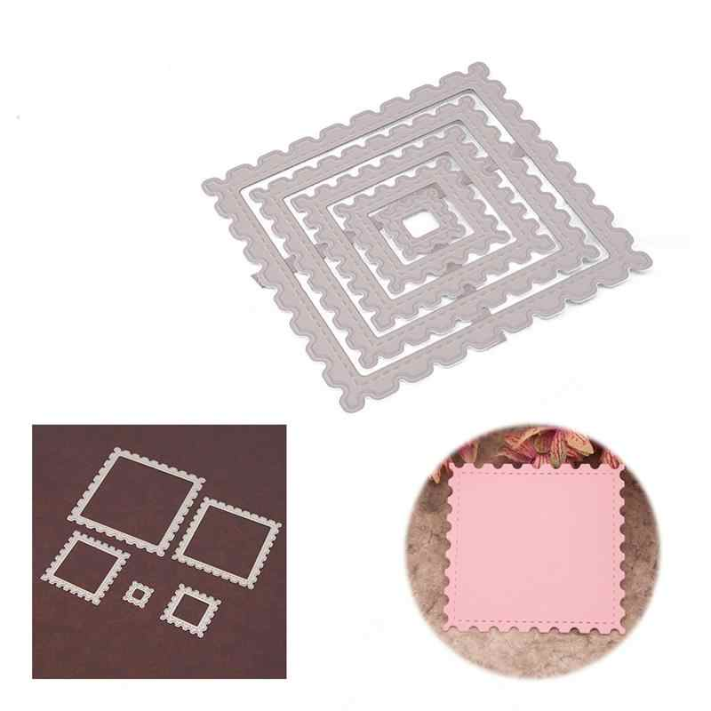 Cards Making Metal Cutting Dies Christmas Frame For DIY Stamp Scrapbooking Photo Album Embossing Paper Decorative Crafts Die Cut