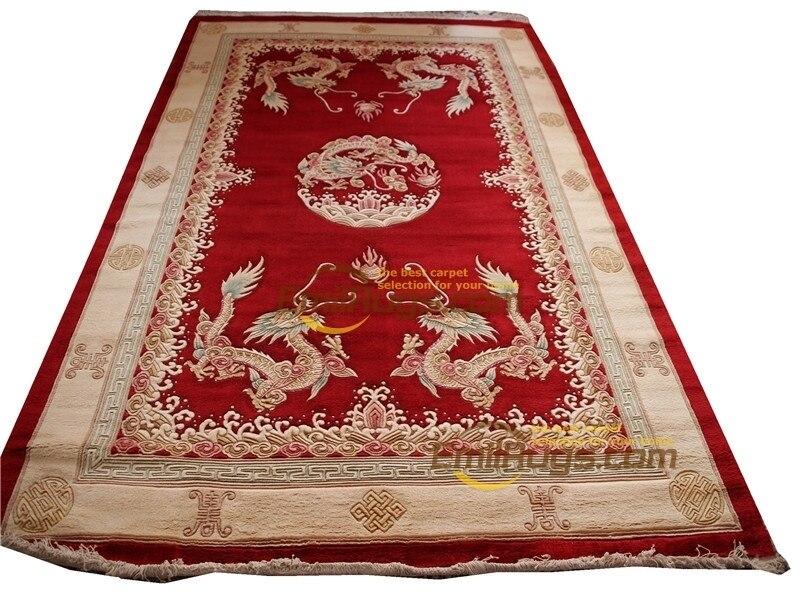 Viscose tapis français à propos de la Savonnerie en peluche épaisse nouée à la main tapis fait sur commande 6' X 9' lx003 395 gc85savyg28