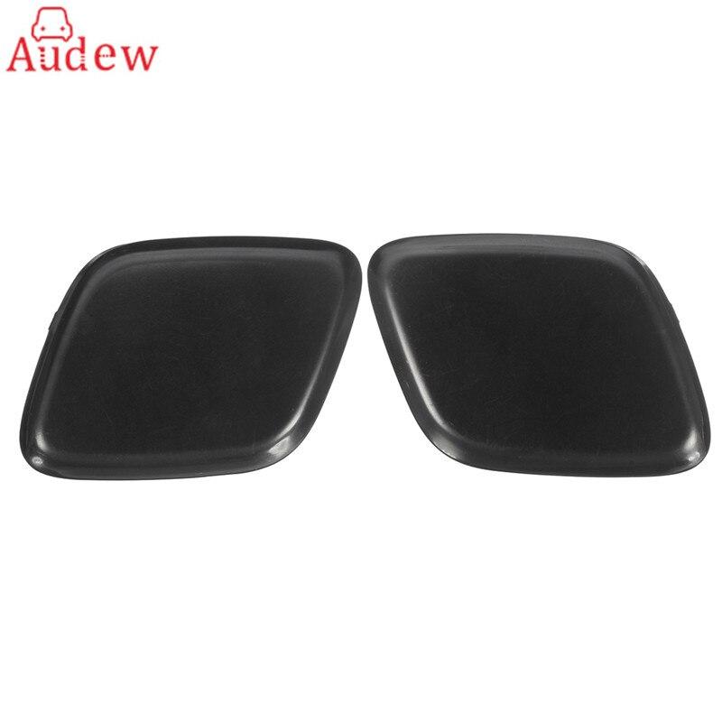 1Pcs Left/Right Black Bumper Headlight Washer Jet Primed Cover Cap For Ford/Focus 2012-2014