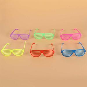 Image 3 - 50 個シャッターシェードメガネ無地眼鏡シャッターサングラスパーティーの小道具ギフトクリスマス誕生日ハロウィン