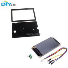 Nextion Enhanced 7.0 NX8048K070 800x480 Resistive Touch Screen HMI UART Display Module Acrylic Case for Arduino Raspberry Pi rcmall nextion 7 0 hmi intelligent nextion lcd module display for arduino raspberry pi esp8266 fz1752 diymall