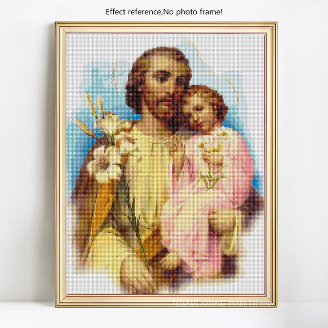 HUACAN 5d DIY Diamond Painting Jesus Religion Full Square Diamond Embroidery Sale Rhinestone Picture 5D Diamond