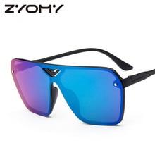 Sunglasses Women Gafas Driving Glasses Brand Designer Siamese UV400 Zonnebril Clamshell Unisex