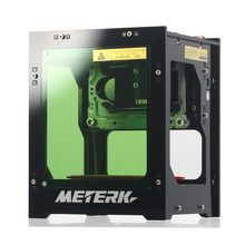 hot deal buy meterk 1500mw mini diy cnc laser engraving machine woodworking machinery wireless bt4.0 print wood router for pc rapid speed