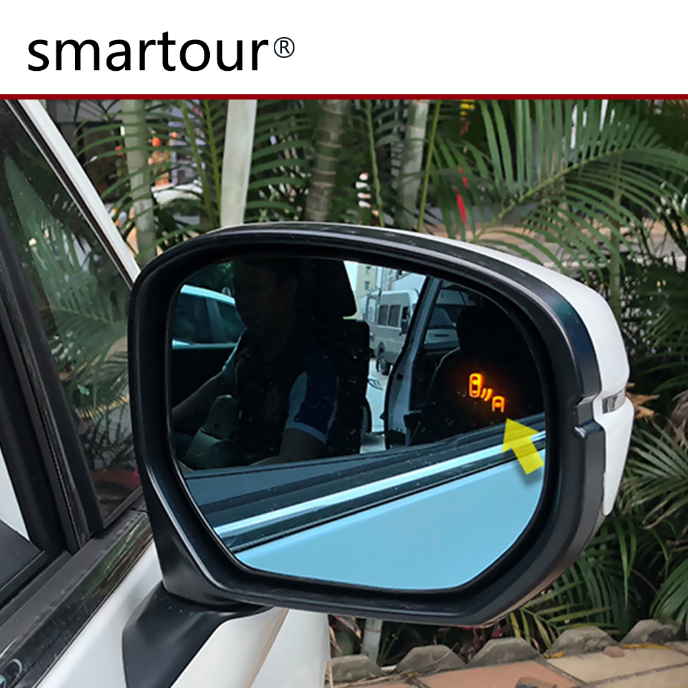 Smartour car BSM BSD Microwave Millimeter Reversing Radar Blind Spot Blind zone Monitoring and Line Assist for Honda Civic in Parking Sensors from Automobiles Motorcycles