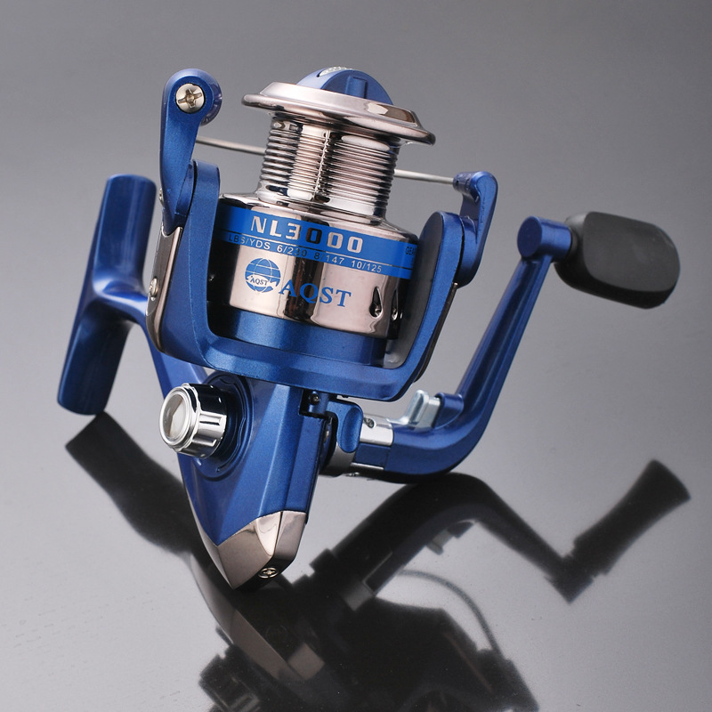 2019 New Vissen Arrival Real Ocean Boat Fishing River Carretilha Spinning Reel Molinete Nl1000 6000 Line Roller Plastic Cup in Fishing Reels from Sports Entertainment