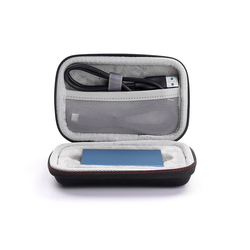 EVA Hard Disk Case Travel Carrying Bag Protective Cover Hard Case Storage for Samsung T5 SSD with Zipper anti-scratch shockproof