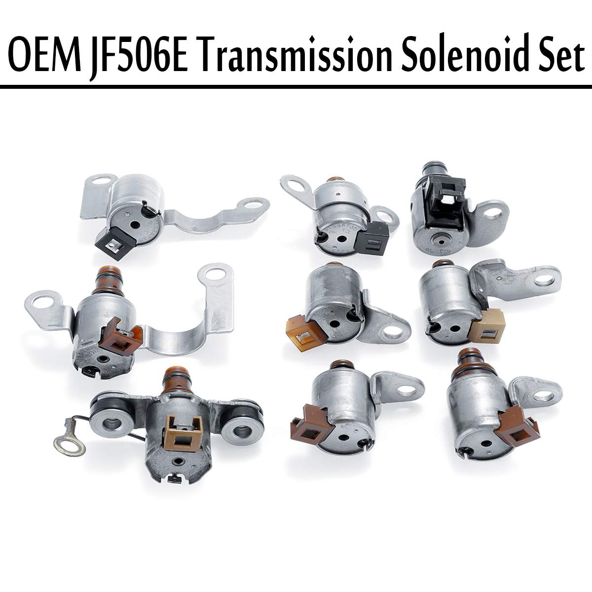 Metal JF506E 09A Shift Transmission Conjunto Kit Para Volkswagen Jetta MK4 Substituição Solenóide da caixa de Velocidades de Transmissão Automática & Parts