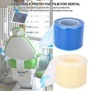 Image 5 - 1200pcs/roll Dental Protective Film Disposable Barrier Protecting Film Plastic Oral Medical Material Isolation Membrane 10*15cm