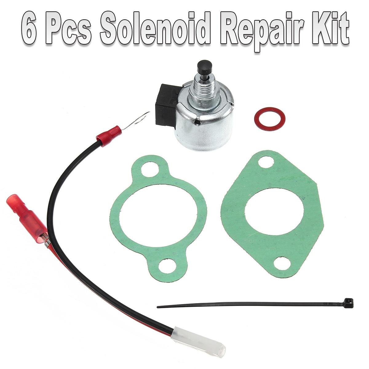 Solenoid Repair Kit Replaces For Kohler Nos. 12-757-09, 12-757-33 S & 1275733 CarburetorsSolenoid Repair Kit Replaces For Kohler Nos. 12-757-09, 12-757-33 S & 1275733 Carburetors