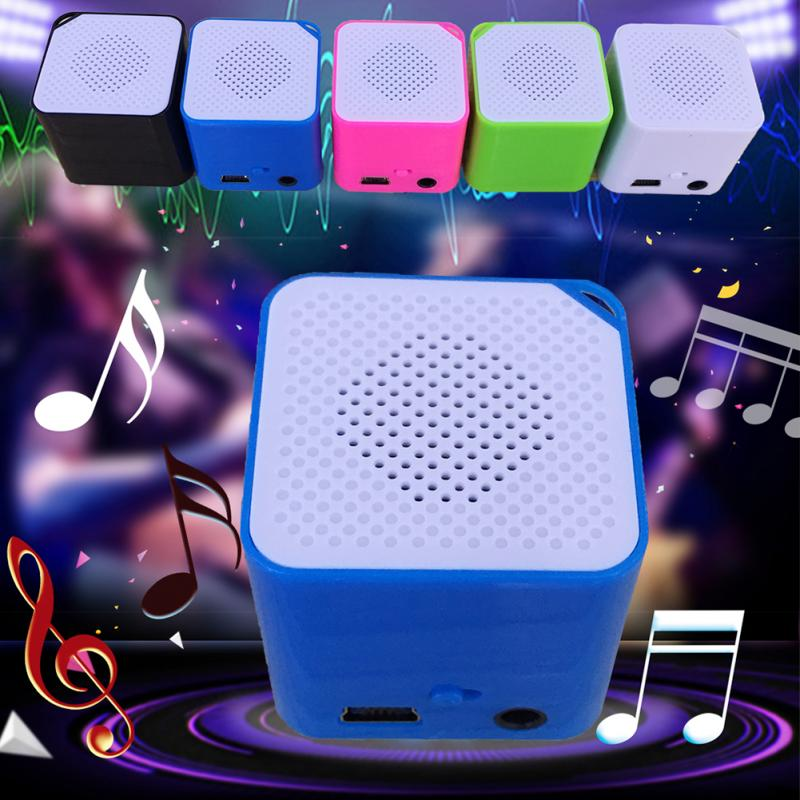 Portable Mini MP3 Music Player Support 16G TF Card Speaker Campaign MP3 Music Player Built-in Speaker  #2