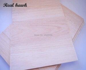 150x150mm dicke 1/2/3/4/5/6/8mm AAA + Balsa Holz Blatt Sperrholz puzzle Dicke super qualität für flugzeug/boot DIY