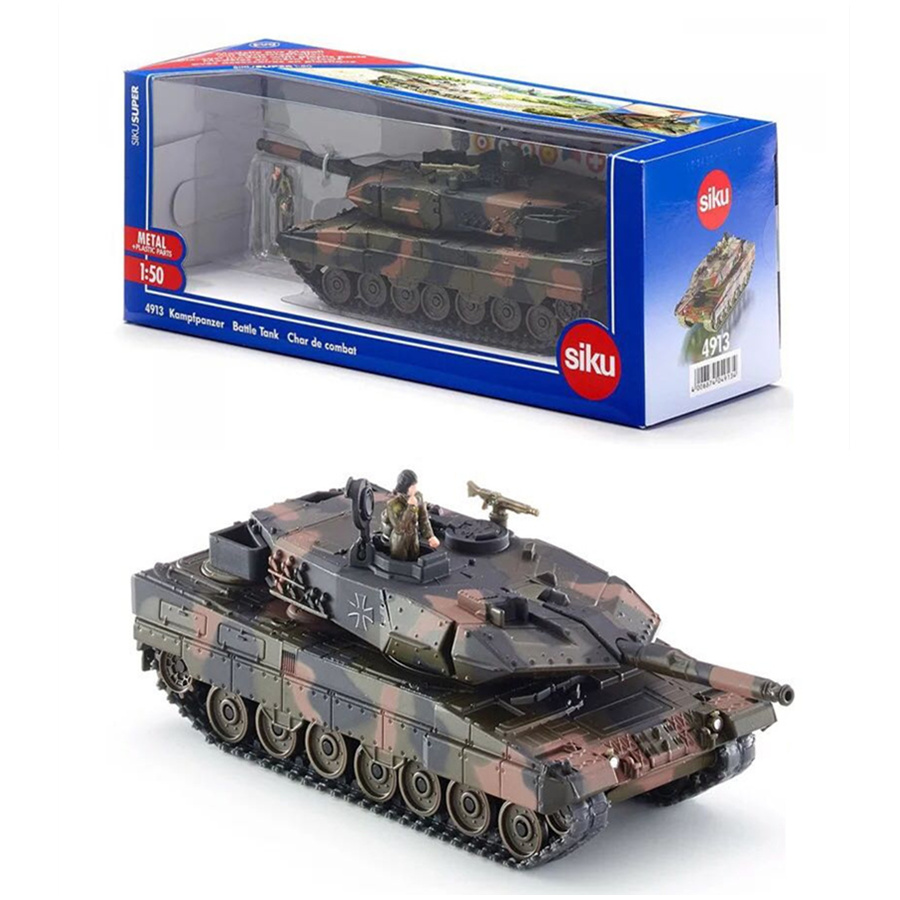 SIKU 4913/1:50 Scale/DieCast Metal Model/Main Panzer Army Battle Tank/Toy Car for children's gift/Educational Collection-in Diecasts & Toy Vehicles from Toys & Hobbies    1