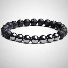 Bead Bracelet Gift Fashion Jewelry Male-Accessories Natural-Stone Classic 3-Style Minimalist