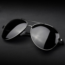 Polarized Vintage Aviation Sunglasses Men Brand Designer Sun
